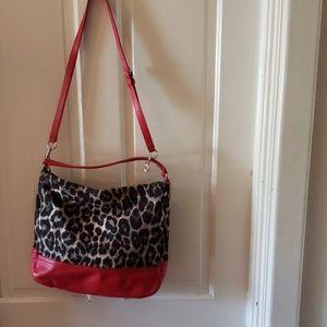 NWOT Coach Park ocelot Leopard Cheetah hobo bag